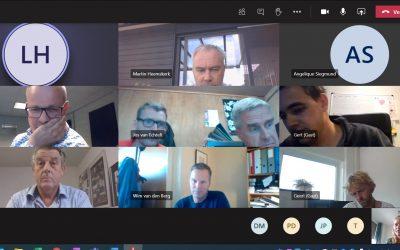 Eerste online vergadering kwekersvereniging